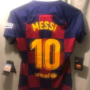 Authentic Barcelona Messi Jersey